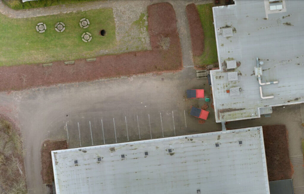 Drone mapping byggeplads